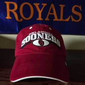 OU Sooners Maroon Dad Hat Top of the World